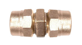 CAMBRIDGE BRASS 6581832 3/4 in x 3/4 in Full Bore Coupling CB x CB No Lead
