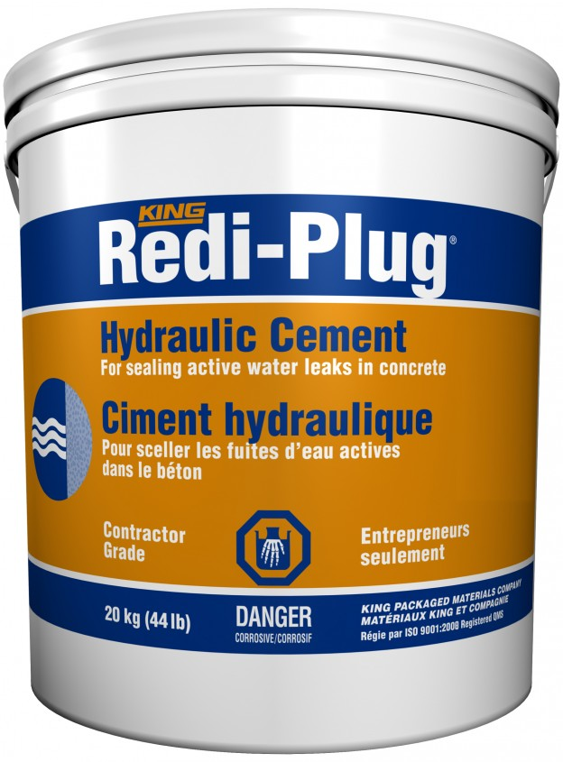 King Packaging Material  8072851 20 kg Redi Plug Cement